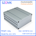 extruded aluminum enclosure boxes gps tracker enclosures