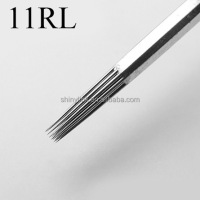 EO gas sterilized round liner tattoo needles