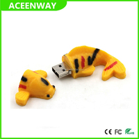 cartoon pvc usb flash drive 4G 8G 16G 32G 64G