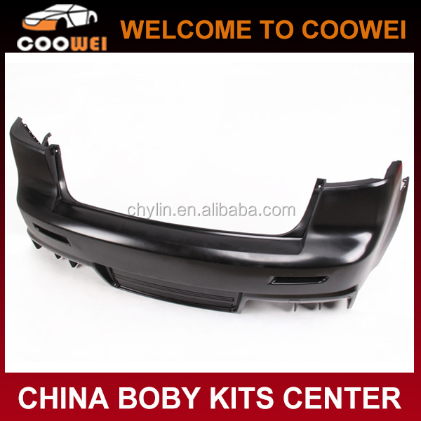 Top Quality PP Material EVO Style Rear Bumper For Mitsubishi Lancer-EX