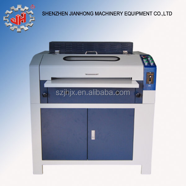 paper sticker label spot UV coating machine with UV varnish