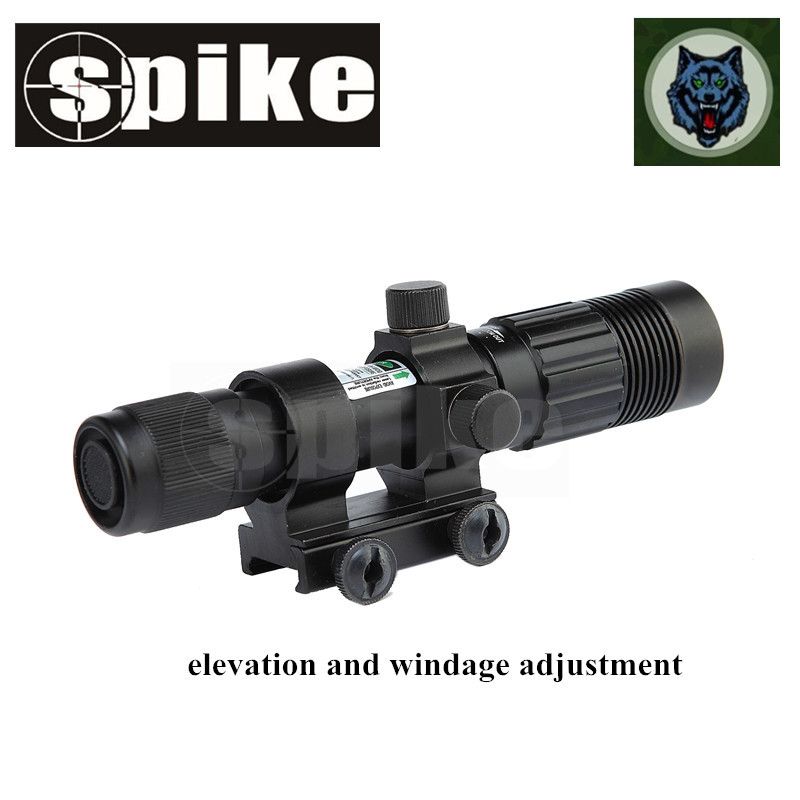 SPIKE Green Laser Designator / Illuminator / Hunting Flashlight