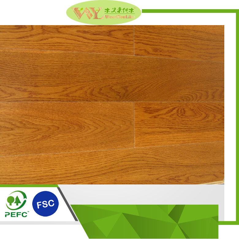 3 Strip Golden <strong>Oak</strong> Engineered Timber Flooring Solid Wood Flooring