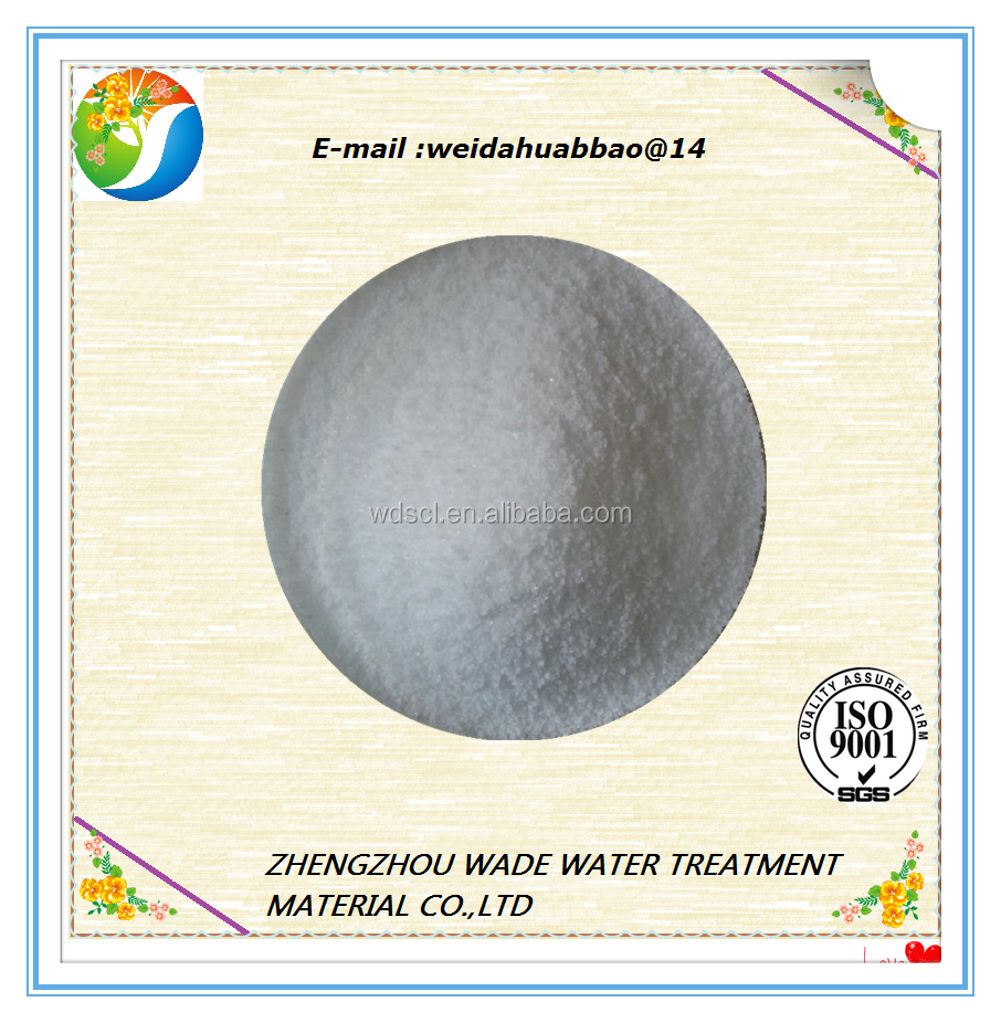 anionic polymer flocculant/polyacrylic acid sodium salt drilling fluid for oil drilling