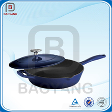 China manufacturer cast iron enamel casting non-stick cookware
