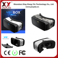 Popular head-mounted virtual reality vr box vr case for smartphone