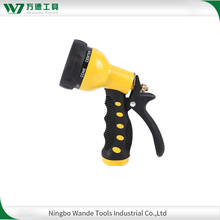 Multi Pattern plastic water spray nozzle high pressure hose nozzle