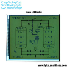 Small 12864 character lcd module display screen