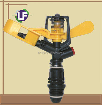 1/2'' nozzle adjustable plastic sprinkler