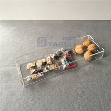 Clear Breakfast Tray Acrylic Service Tray Acrylic Dry Fruit Tray Wholesale