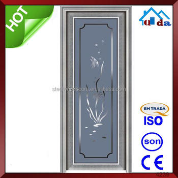 manufactory wholesale interior bathroom swing half doors