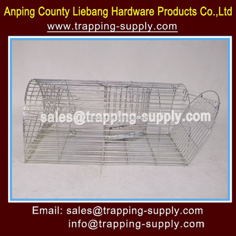 Inklapbare humane live vangst feral kat kooi val fabrikant china directe leverancier - Kooi trap ...