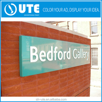 Outdoor UV Printing Hotel Sign Board