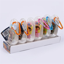 Wholesale 50ml private label antibacterial empty hand sanitizer bottle holders with carabiner