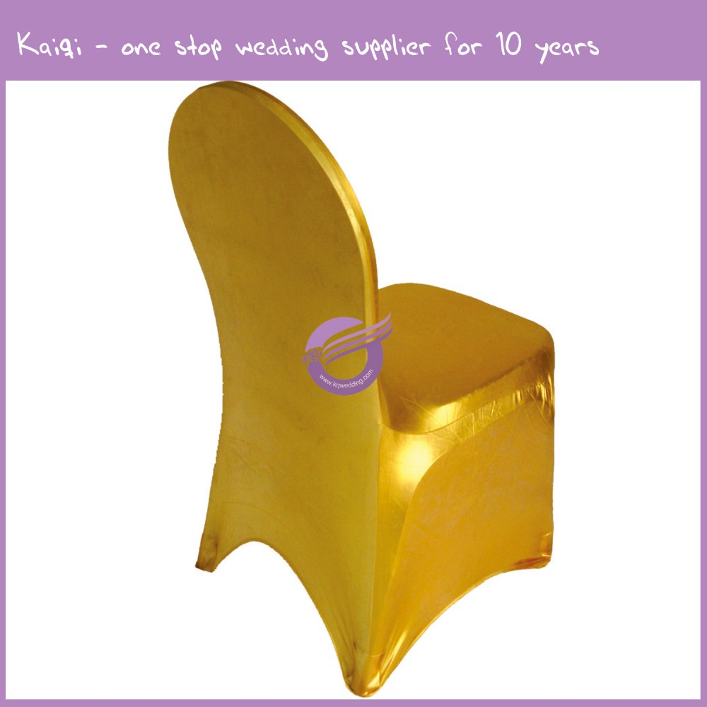 YT00313 wholesale cheap $1 wedding regular spandex chair cover