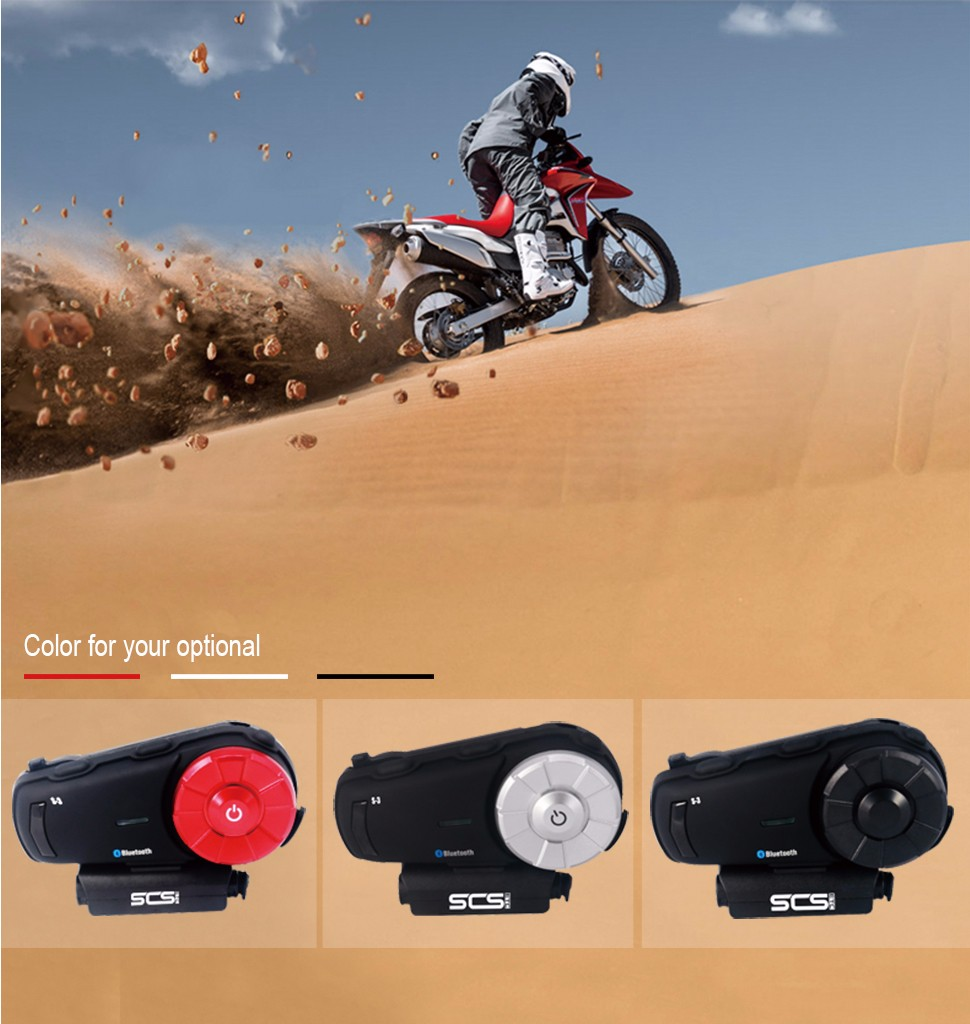 Hot selling motorcycle helmet intercom 8 riders 1000M bluetooth intercom system intercom motorcycle