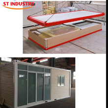 Steel structure morden living prefab shipping container house for sale