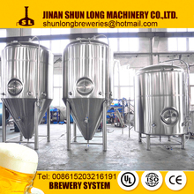 2bbl 3bbl 5bbl beer brewing equipment with high quality raw material 3mm thickness