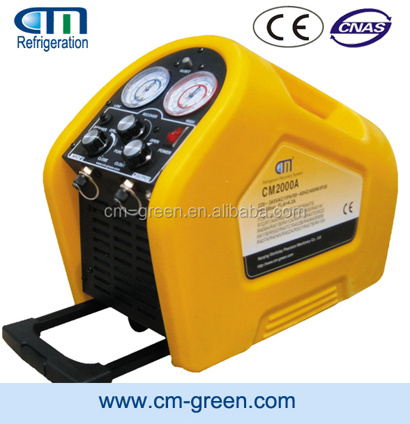 R407C/R410A/R22 Oil-free compressor refrigerant recovery/reclaim/vacuum Pump CM3000A for air conditioning chillers and condensor
