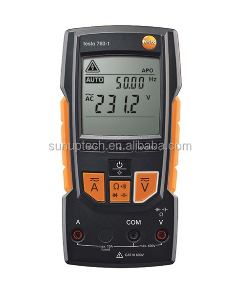 Testo 760 Electrical Measurement Digital Multimeter