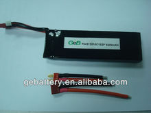 high capacity 3.7v8200mah 10C RC helicopter battery