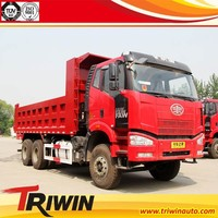 12t 13t 14t EURO 4 350hp faw 10 wheeler european dump trucks for sale in holland