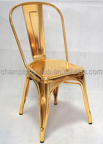New Gold Marais Chair