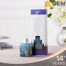 Fashion design free sample fragrance reed diffuser stick gift set