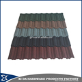 Steel al-zinc steel roofing sheets price colorful stone coated metal roof tile