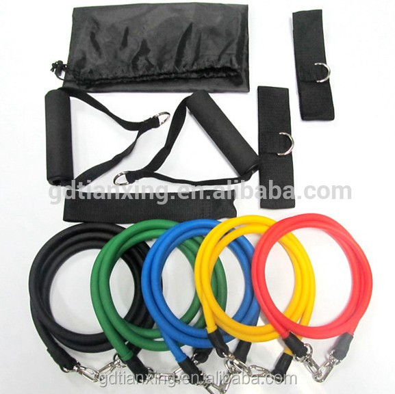 Circular Custom Strength Colorful Comfy Resistance LatexTube