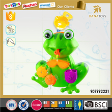 Hot summer animal bath toy for baby cartoon plastic frog toy