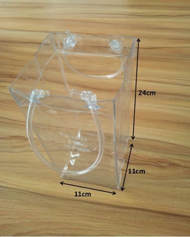 clear plastic wine cooler bags Clear Pvc Wine Cooler Bags