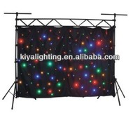 Amazing effect led twinkling stars led curtain lights