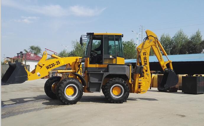 WZ30-25 backhoe wheel loader with Euro 3 engine.CE certificate backhoe for sale