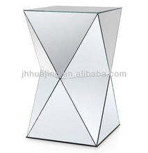 Hot Sale Cheap Modern Abstract Designed Full Mirror Panel Stand/Home Decor/Side Table