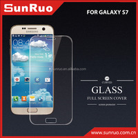 For S7 3D full screen cover tempered glass screen protector, Glass screen protector for S7