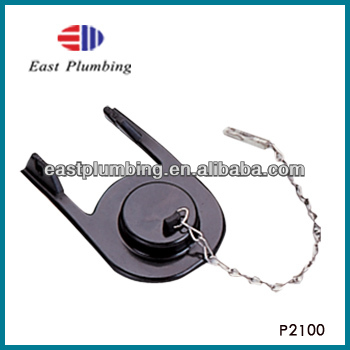 P2100 Black Toilet Rubber Flapper Valve