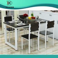 Modern Solid Teak Wood Restaurant Dining Table Sets Designs