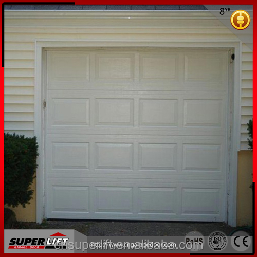 Hot sales garage door with imitation wood color ,Sectional garage door with windows,Double track garage door