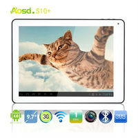 "In Stock 9.7"" android panel pc Allwinner10 Capacity Touch Screen Android 4.0 Ram 1gb 16GB 1024*768 S10+ Tablet PC"