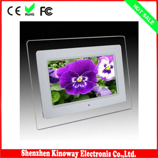 "2013 new digital photo frame 7""PHOTO VIEWER - 7 tft lcd 800x480"