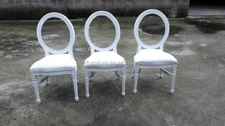 Wedding banquet party chair stackable <strong>acrylic</strong> wood padded wedding chair