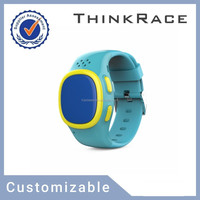 GPS watch phone/gps tracker/mobile watch phones/smart tracker with pedometer and Customizable gps tracking Thinkrace PT520