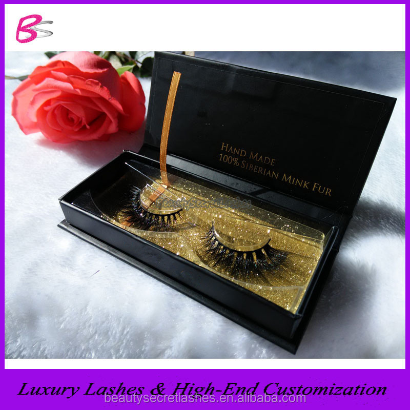 Factory Price Mink Eye Lashes Private Label Own Brand Eyelashes Magnetic Lash Box