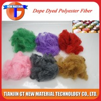 dope dyed recycled polyester fiber for automotive interior trim fiber
