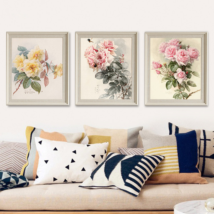 2017 Hot Sale Wholesale Factory Cheap Inkget Printing Painting Canvas Frame Painting Print for Home Decoration Wall Art
