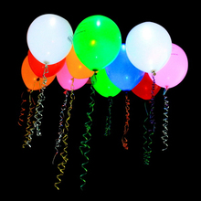 <strong>Wedding</strong> Favors Glow In The Dark Baby Shower Gifts LED Balloons With Plastick Stick