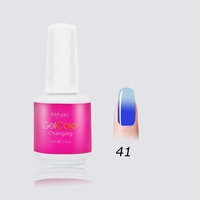 uv natural nail color temperature gel color changing gel polish from RNK