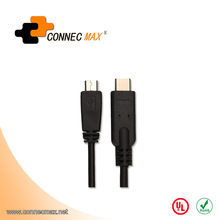 Type C Male Connector to Micro USB Cable USB 3.1 Data cable