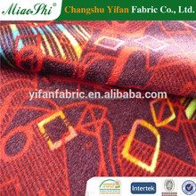 Printed sofa velour for bombay market fabric from china